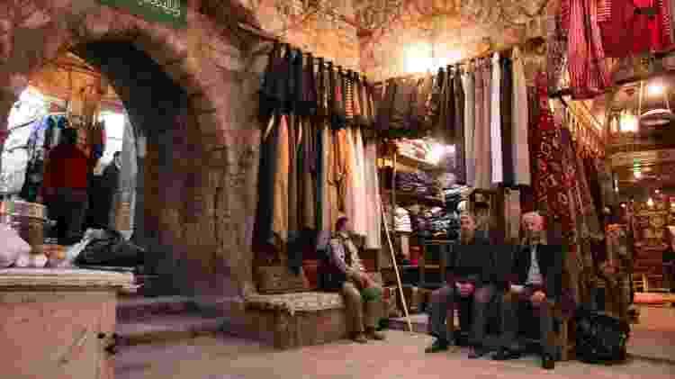 Bazar de Aleppo, na Síria, em foto tirada em 2005 - Zeledi/creativecommons.org/licenses/by-sa/3.0/deed.en - Zeledi/creativecommons.org/licenses/by-sa/3.0/deed.en