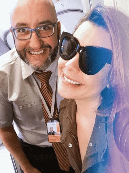Felipe Chammas e Fernanda Souza - Reprodução/Instagram