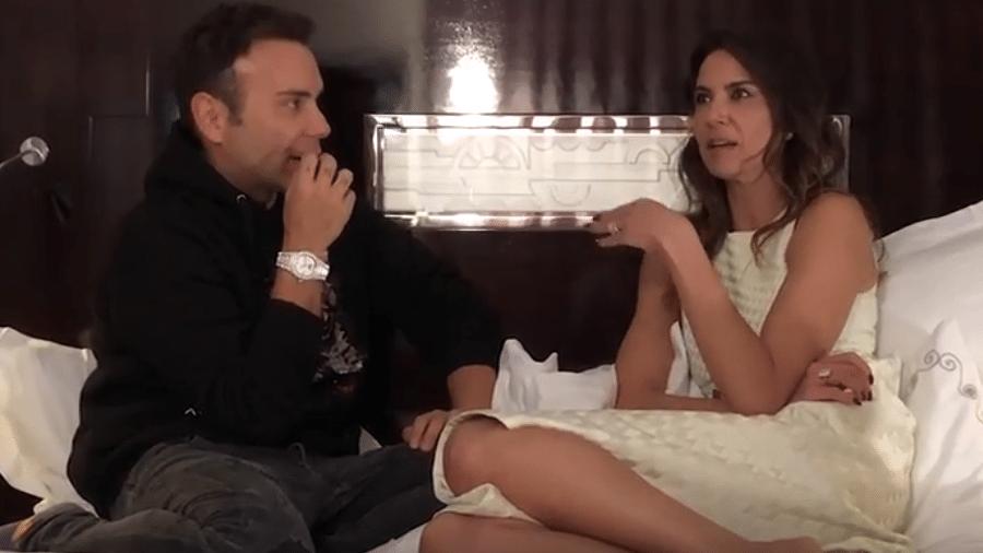 Matheus Mazzafera entrevista Luciana Gimenez - Reprodução/YouTube