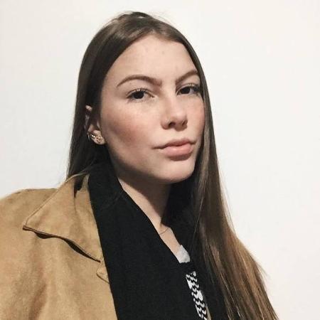 A estudante Julia Spak - Arquivo pessoal