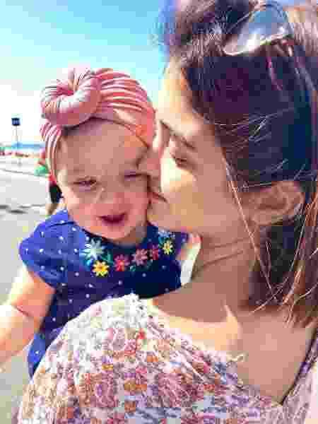 Letícia parou de trabalhar para cuidar da pequena Maria Madalena - Reprodução/Instagram@leticia - Reprodução/Instagram@leticia