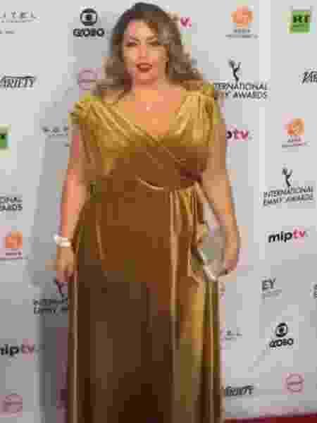 Após desabafo sobre roupa, modelo plus size aparece no Emmy - Reprodução/Instagram