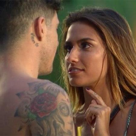 """Any e Miguel são participantes da atual temporada do """"De Férias com o Ex Brasil"""" - Reprodução/MTV"""