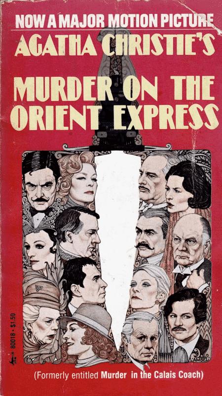 """Capa do livro """"Assassinato no Expresso Oriente"""", de Agatha Christie - Reprodução - Reprodução"""