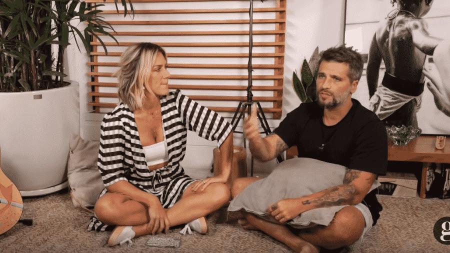 Giovanna Ewbank e Bruno Gagliasso - Reprodução/YouTube