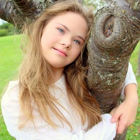 Georgia tem 15 anos e é modelo - Reprodução/Instagram