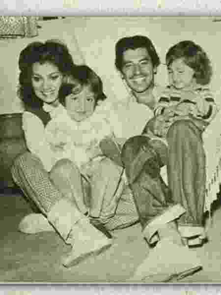 Eliane Giardini, Paulo Betti e as filhas Juliana e Mariana - Reprodução/Globo - Reprodução/Globo