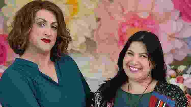Mariana Xavier e Paulo Gustavo nas gravações de Minha Mãe É Uma Peça 3 - Reprodução/Instagram