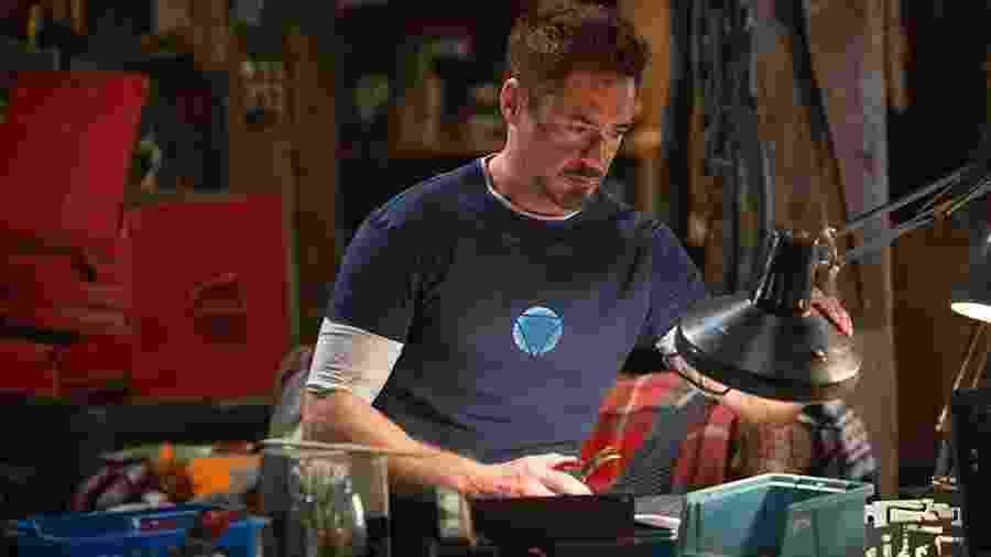 Robert Downey Jr. em Homem de Ferro 3 - Divulgação