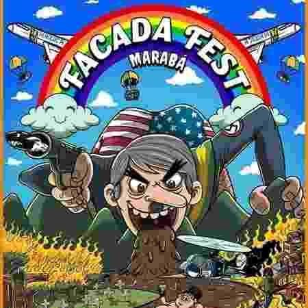 Cartaz mais recente do Facada Fest, no PA - Reprodução/Facebook - Reprodução/Facebook