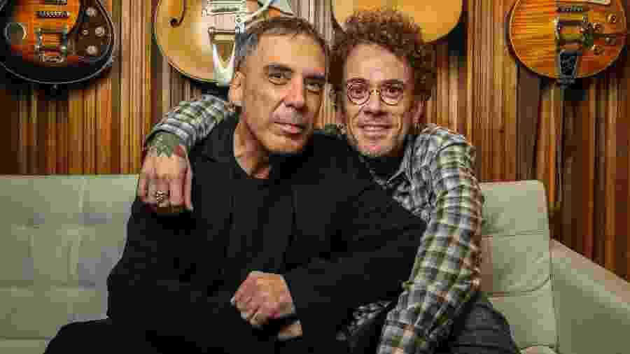 Arnaldo Antunes e Nando Reis vão cantar juntos - DANIEL TEIXEIRA/ESTADÃO CONTEÚDO