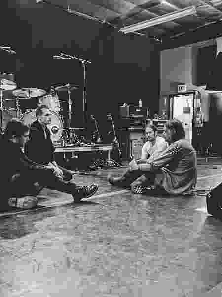 My Chemical Romance se reúne para ensaio - Reprodução/Instagram