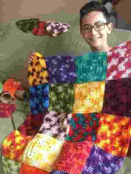 Junior Crocheteiro  - Arquivo Pessoal - Arquivo Pessoal