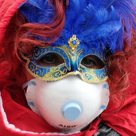 Carnaval de Veneza, na Itália, foi adiado por coronavírus - Manuel Silvestri/Reuters