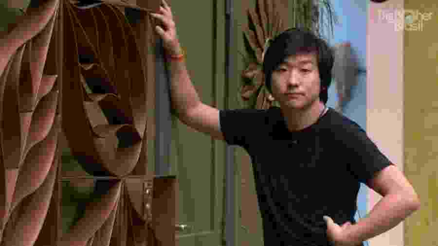 BBB 20: Pyong na porta do confessionário - Reprodução/Globoplay