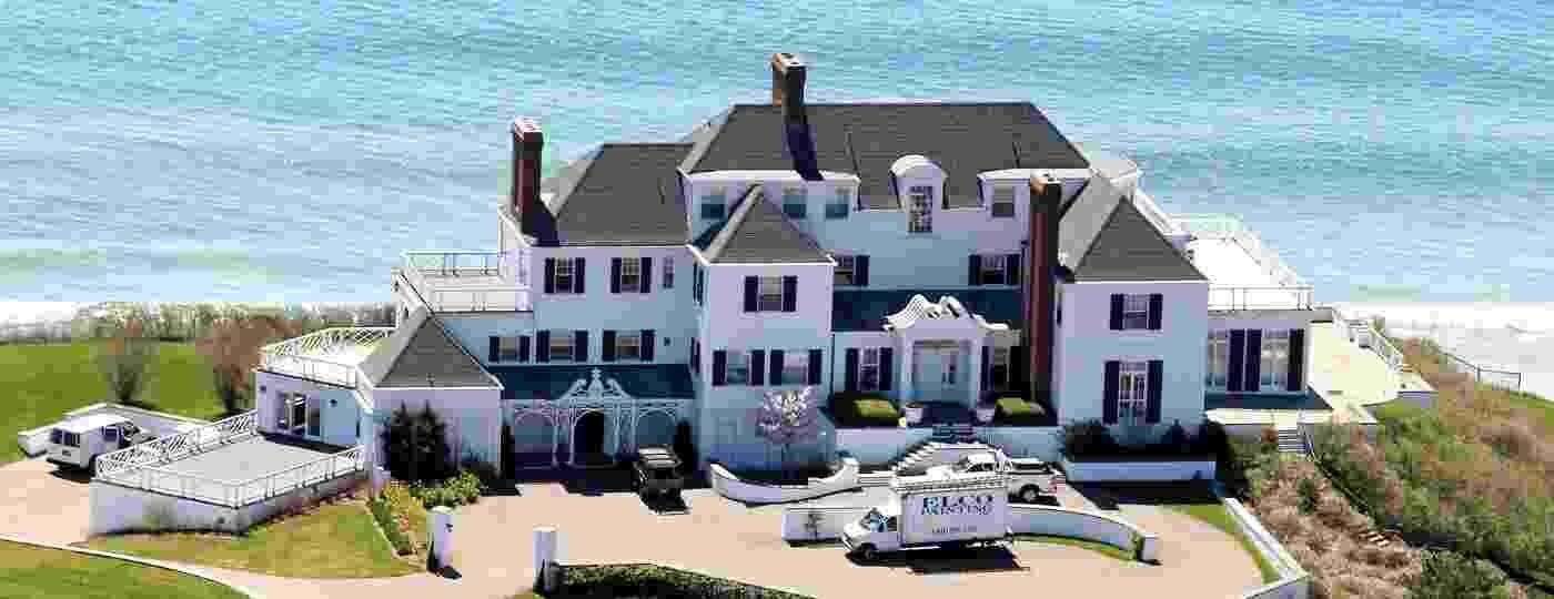 """Mansão de Taylor Swift em Rhode Island, EUA, foi a inspiração para a música """"the last great american dynasty"""" no álbum """"folklore"""" - Reprodução"""