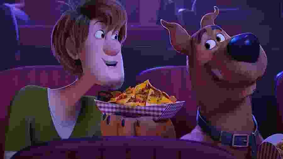 """Cena de """"Scooby! O Filme"""" - Divulgação"""