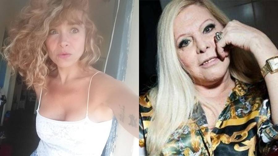 """Aretha Marco diz que sua relação com a mãe, a cantora Vanusa, sempre foi """"profunda, real e não presencial"""" - Reprodução/Instagram"""