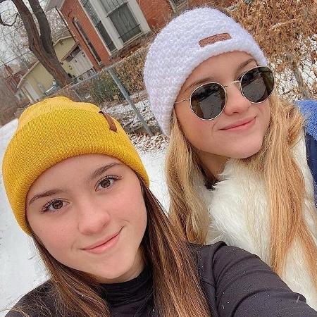 Marina e Sofia Liberato - Reprodução/Instagram