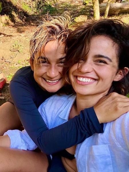 Nanda Costa e a mulher, Lan Lanh - Reprodução/Instagram @nandacosta