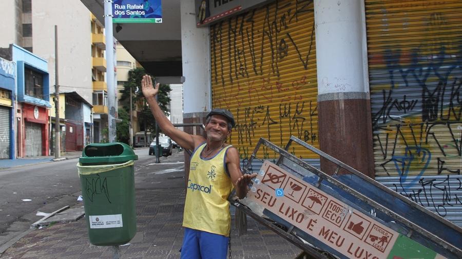 Campanha da ONG Pimp My Carroça pretende arrecadar R$ 500 mil por cestas básicas para catadores  - Divulgação