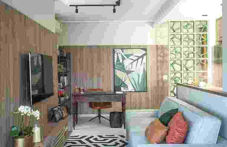 Projeto de Andrade & Mello Arquitetura e Interiores - Luis Gomes - Luis Gomes