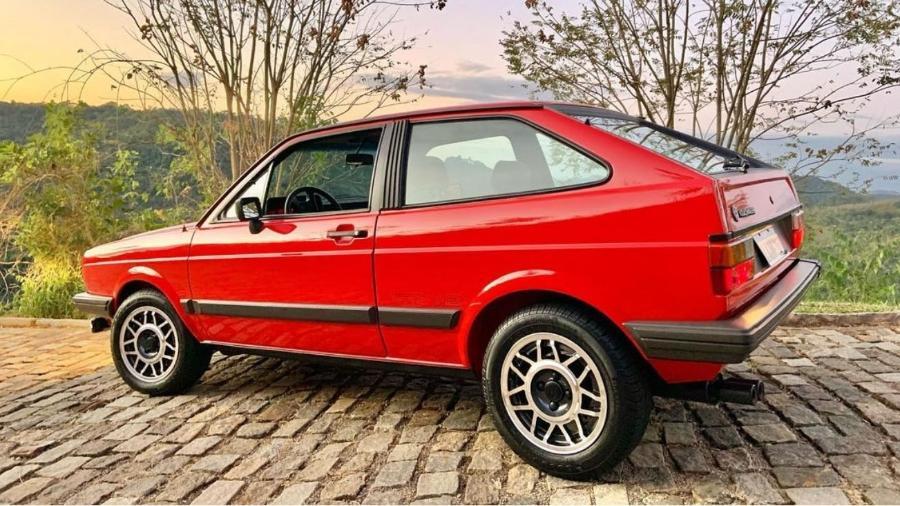 Gol GT foi produzido de 1984 a 1987 e trazia potência consideravelmente maior do que a vista no modelo convencional - Reprodução/Instagram