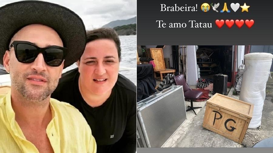 Irmã de Paulo Gustavo desmonta galpão do ator - Reprodução/Instagram