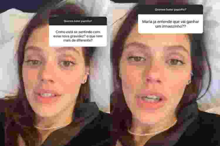 Laura Neiva fala sobre gestações - Reprodução/Instagram - Reprodução/Instagram