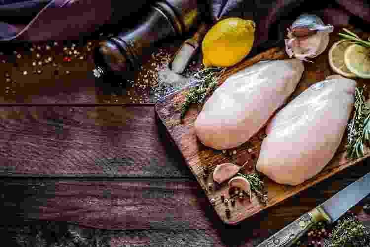 O ideal é descongelar o frango de um dia para o outro - Getty Images - Getty Images