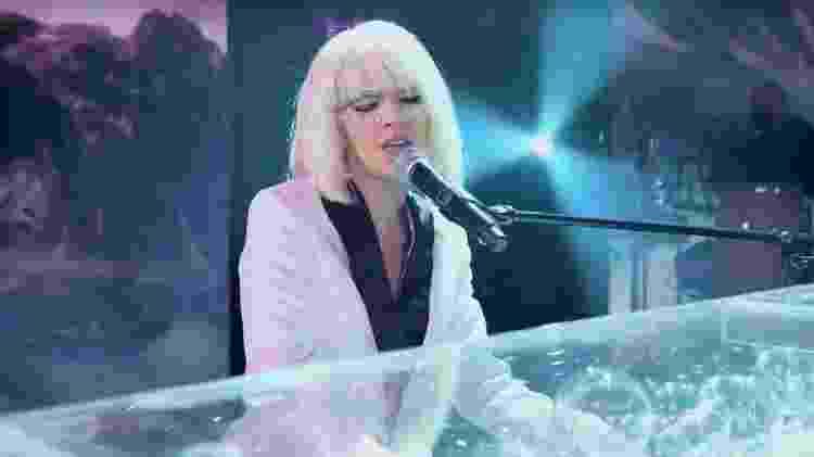 Mariana Rios de Lady Gaga no 'Show dos Famosos' - Reprodução/Globo - Reprodução/Globo