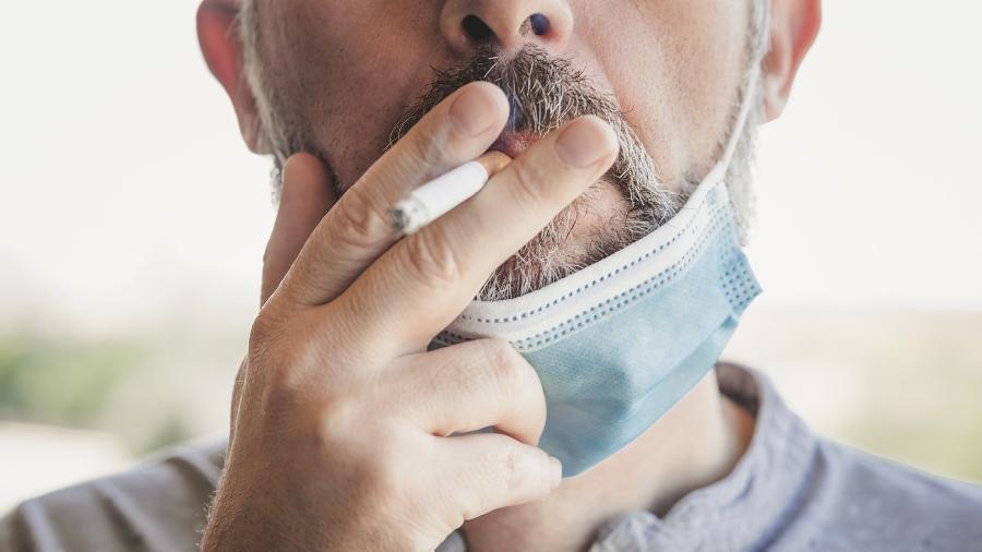 """Autores de pesquisa publicada na revista científica Thorax dizem ter chegado a resultados """"consistentes"""" sobre o """"efeito prejudicial do tabagismo nos quadros de covid-19"""" - Getty Images/BBC News"""