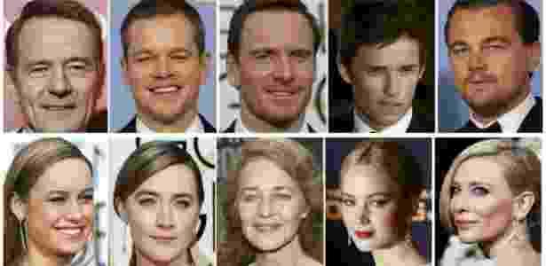 Os atores e atrizes indicados ao Oscar de 2016 - Divulgação