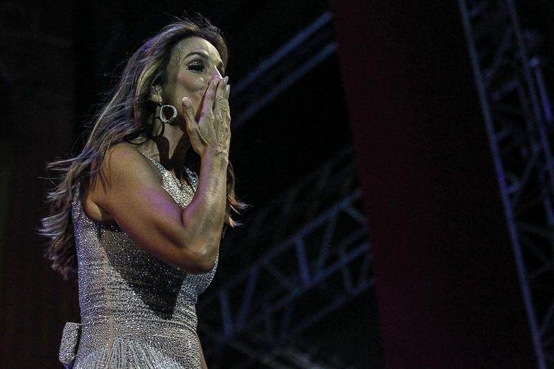 23.jan.2016 - Ivete cantou os sucessos da carreira e levou o público ao delírio