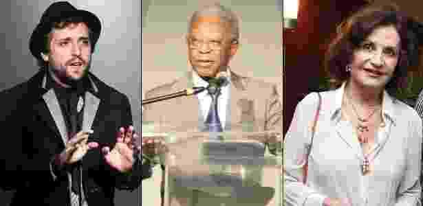 Gregório Duvivier, Milton Gonçalves e Rosamaria Murtinho foram alguns dos artistas que opinaram sobre o novo secretário da Cultura - Divulgação, Photo Rio News, AgNews
