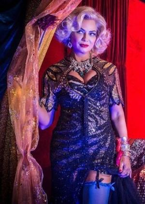 """Luiza Brunet entra em """"Velho Chico"""" como a prostituta Madá - Reprodução/""""Velho Chico""""/GShow"""