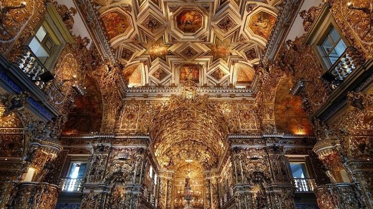 Igreja e Convento de São Francisco, em Salvador - Rosino/Creative Commons