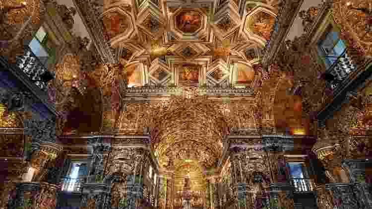 Igreja e Convento de São Francisco, em Salvador - Rosino/Creative Commons - Rosino/Creative Commons