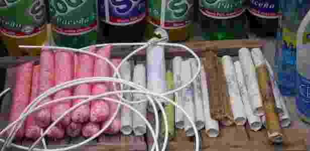 Dinamites são vendidas livremente em mercado de Potosi - Christopher Meneboeuf/Creative Commons - Christopher Meneboeuf/Creative Commons