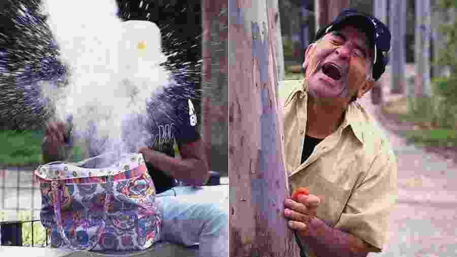 """Ivo Holanda testa a honestidade das pessoas em pegadinha inédita do """"Programa Silvio Santos"""" - Montagem/Divulgação/SBT"""