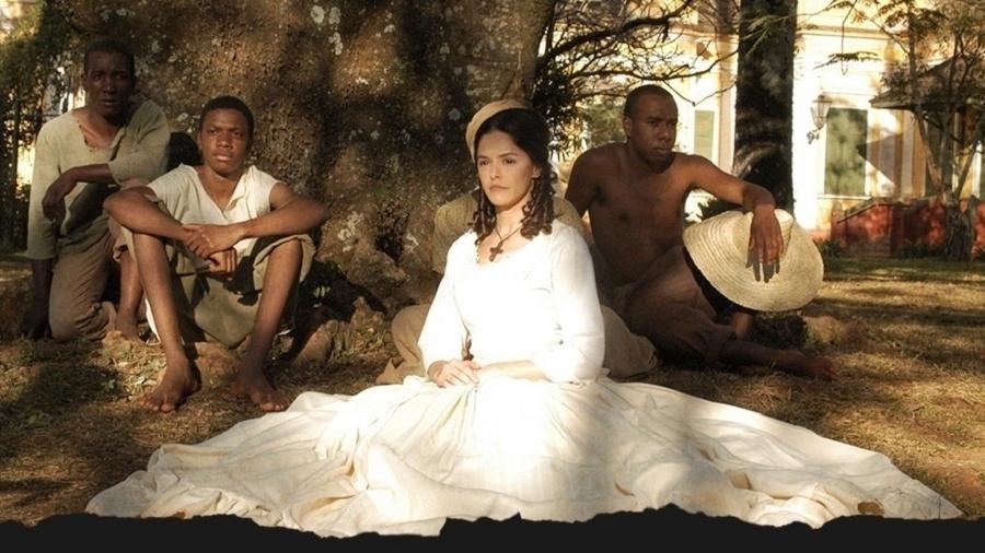 """""""A Escrava Isaura"""" (2004) - Divulgação/Record"""