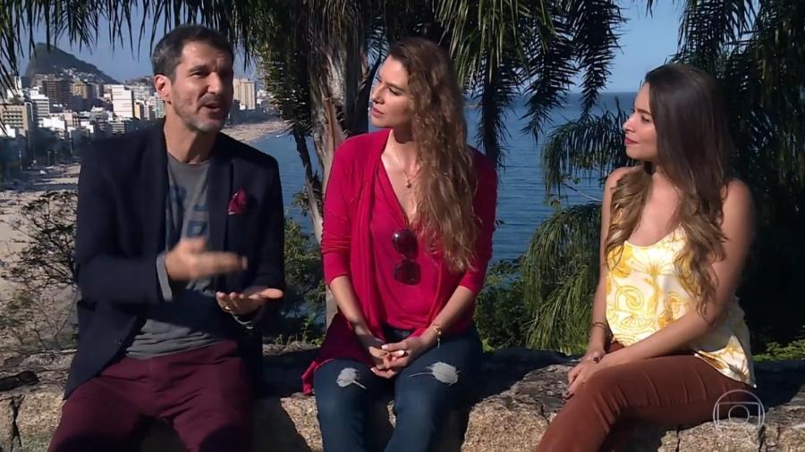 """Nicola Siri e Lavínia Vlasak relembram seus personagens em """"Mulheres Apaixonadas"""" (2003) - Reprodução / TV Globo"""