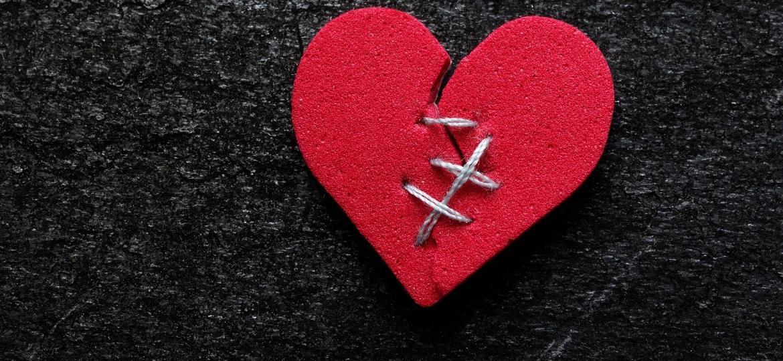 Coração remendado, coração quebrado - Getty Images