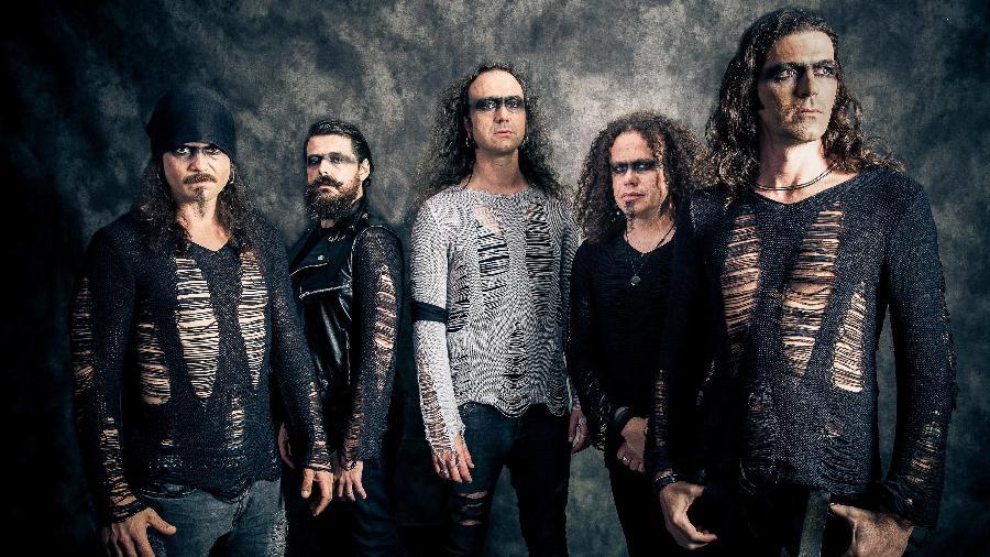 Banda portuguesa de metal Moonspell - Divulgação