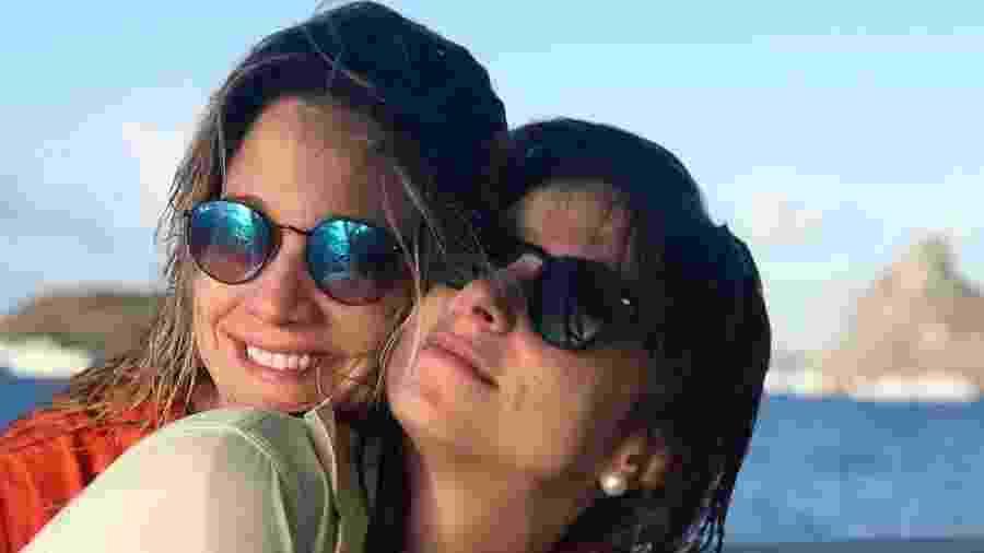 Fernanda Gentil com a namorada, Priscila Montandon - Reprodução/Instagram