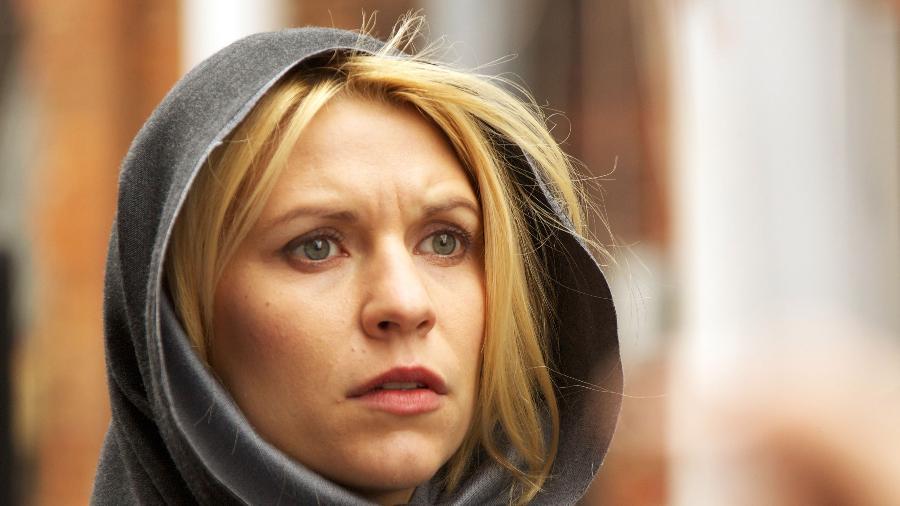 """Claire Danes em """"Homeland"""" - Reprodução"""