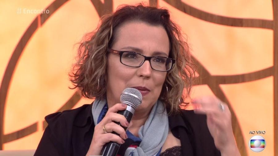 """Ana Beatriz Nogueira fala sobre Esclerose Múltipla no """"Encontro"""" - Reprodução/Globo"""
