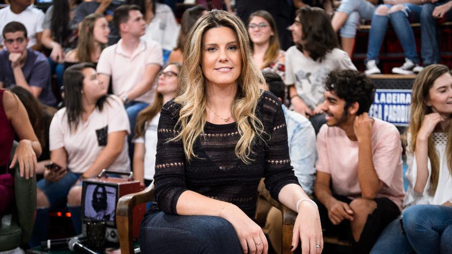"""Daiana Garbin, no """"Altas Horas"""", onde falou sobre sua luta contra um transtorno alimentar - Ramon Vasconcelos/Rede Globo"""