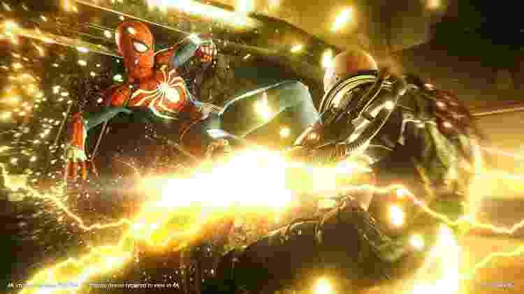 Spider-Man - Jogo de PS4 - Divulgação - Divulgação