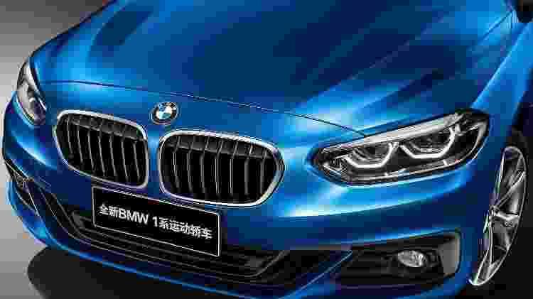 BMW Série 1 Sedan - Divulgação - Divulgação